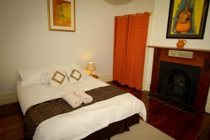 Master bedroom at Hampton House