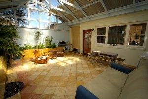 Hampton House Fremantle undercover courtyard