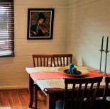 Dining enclave in unit 20 Sevenoaks