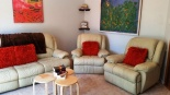 South Perth Living room with leather recliners