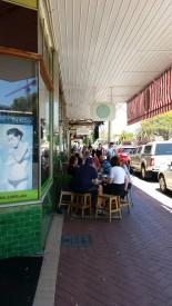 Whatley Crescent Café scene Maylands